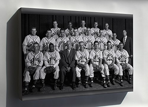 Canvas 16x24; 1953 University Of Michigan Baseball Team (National - National Champions Michigan