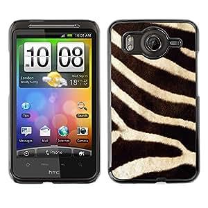 Caucho caso de Shell duro de la cubierta de accesorios de protección BY RAYDREAMMM - HTC G10 - Pattern Animal Nature Africa