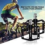 TUT-Pedale-per-Bicicletta-in-Alluminio-Super-sigillato-Pedale-Antiscivolo-per-Mountain-Bike-Accessori-per-Biciclette-alla-Moda-Adatto-ad-Adulti-Che-Amano-Il-Ciclismo