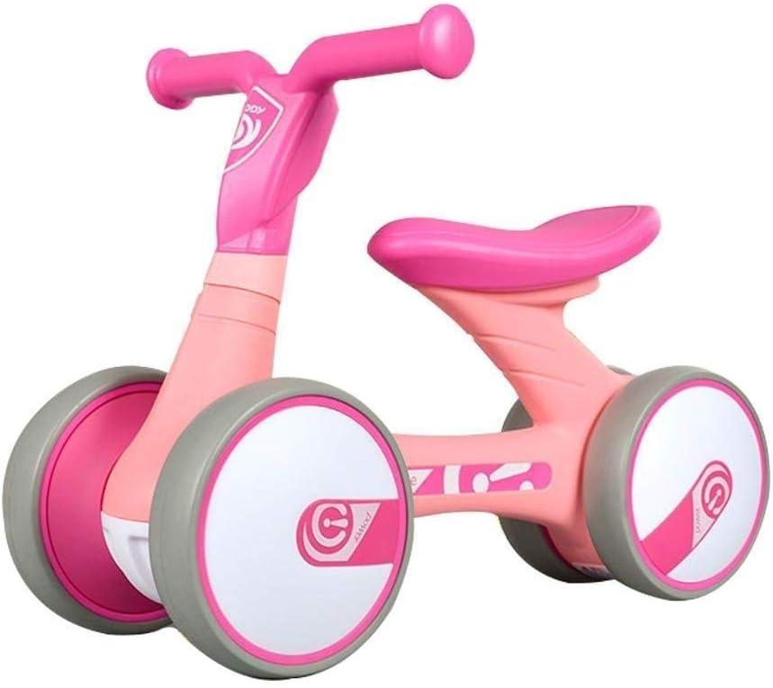 Haaemy Baby Balance Bike No Pedal Baby Car Ride en un Juguete para niños de 1 a 3 años Caminante de 12 a 36 Meses Durable Niño pequeño Triciclo Infantil Interior al Aire Libre