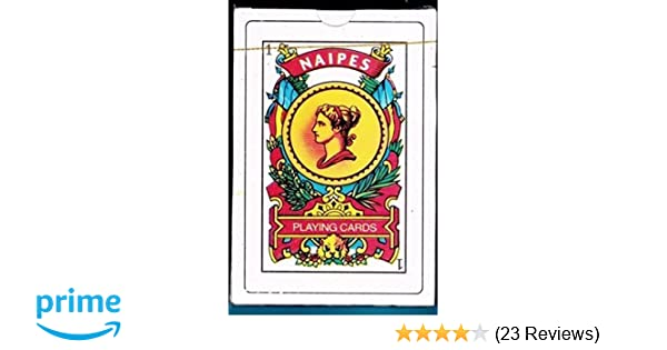 Puerto Rico Spanish Playing Cards 50 Baraja Espanola Briscas Naipes Tarot Deck