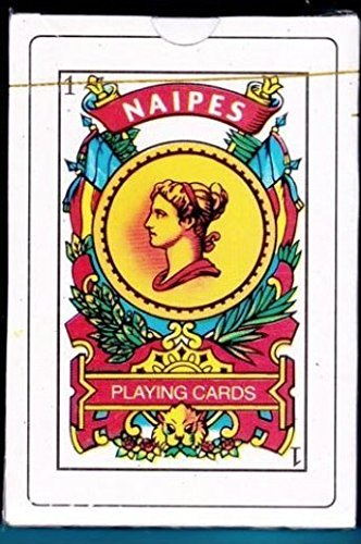 Puerto Rico Spanish Playing Cards 50 Baraja Espanola Briscas Naipes Tarot Deck