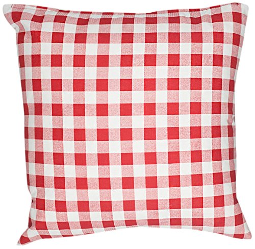 Caught Ya Lookin' S248-617 Pillow Cover, Red by Caught Ya Lookin'