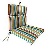 Jordan French Edge Chair Cushion - Multi-Colored