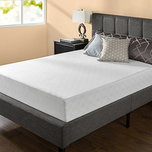 Zinus 10 Inch Gel-Infused Green Tea Memory Foam Mattress, Queen
