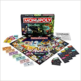 Rick And Morty Monopoly Board Game: Amazon.es: Libros en idiomas extranjeros