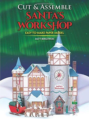 Cut & Assemble Santa's -
