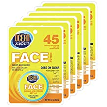 OCEAN POTION SPF#45 FACE ZINC OXIDE CLEAR 1 oz. (Case of 6)