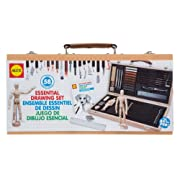 Amazon Lightning Deal 71% claimed: ALEX Toys - Artist Studio Portable Essential Drawing Set with Wood Carrying Case 58W