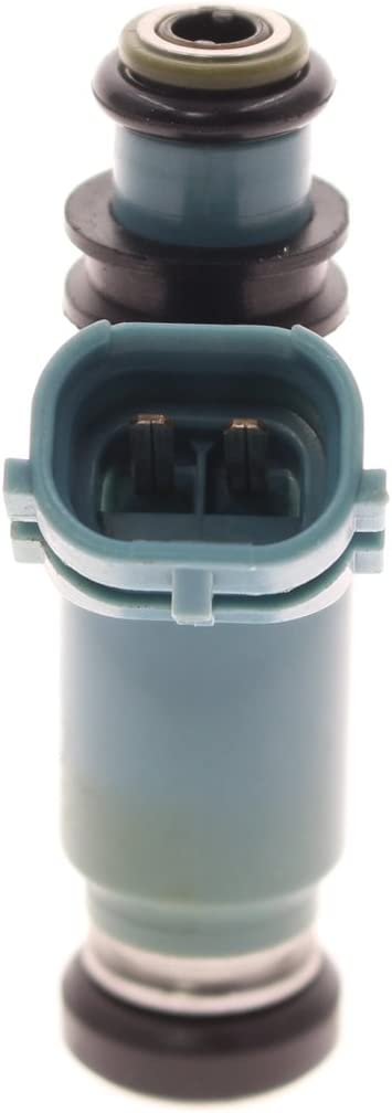 AUTOKAY 4 Pcs Fuel Injectors Feed Light Blue for Subaru WRX 02-05 440cc