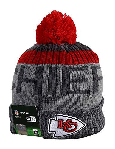 KC CHIEFS Sport Knit Winter Wool Warm Beanie Pom Hat Multicolour (New Era Chiefs Beanie)