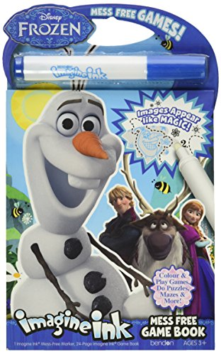 Bendon Publishing Disney Frozen Imagine Ink Mess Free Game Book