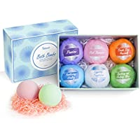 6-Pack Tdbest Stress Relief Bath Bombs Gift Set