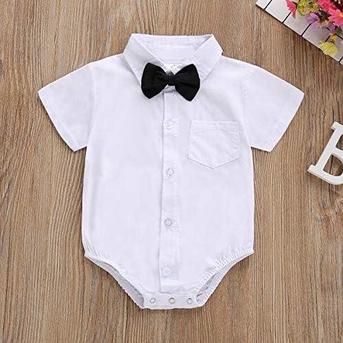 battesimi foto per matrimoni torta tutina per neonati con papillon festa di compleanno Tutina da bambino//ragazzo con bottoni in gi/ù
