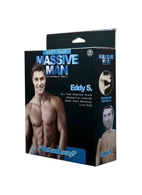 Muñeca hinchable para hombre Eddy S: Amazon.es: Salud y ...