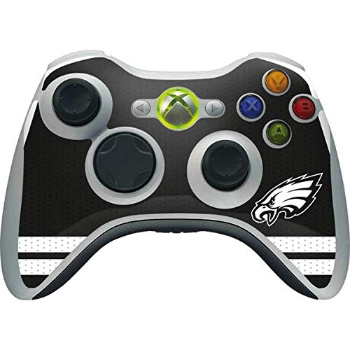 Skinit NFL Philadelphia Eagles Xbox 360 Wireless Controller Skin - Philadelphia Eagles Shutout Design - Ultra Thin, Lightweight Vinyl Decal Protection
