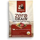 Rachael Ray Nutrish Zero Grain Natural Dry Dog Food, Beef with Bison Recipe, Grain Free, 3.5 lbs