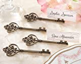 Key To My Heart' Victorian-Style Key Place Card Holder - Total 96 items