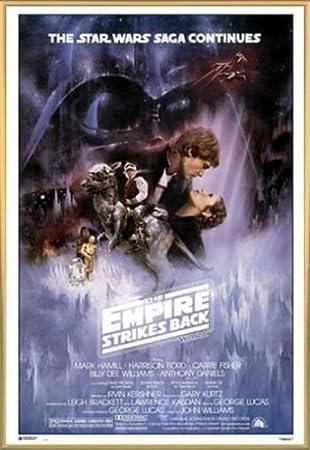 1art1 Star Wars Póster con Marco (Plástico) - Episodio V, El ...