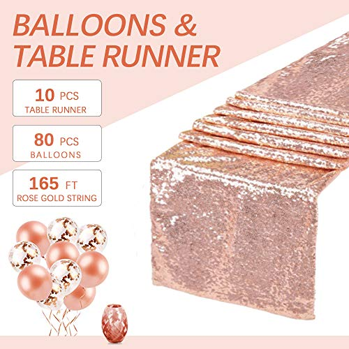 B-COOL Sequin Table Runners 14