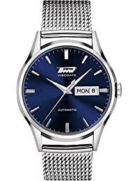 Men's Automatic Stainless Steel Visodate Mesh Watch T1094301104100