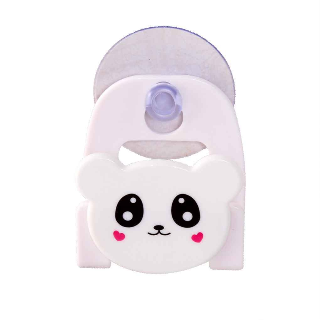 Lidahaotin Évier de cuisine éponge vaisselle tissu Cartoon Porte-épurateurs Avec Coupe forte aspiration