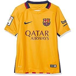 Nike FCB Barcelona FC enfant Auswärts Maillot 2015/2016, Jaune