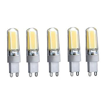 XHD-Bombillas de ahorro de energía BOMBILLA LED G9 3W Equivalente 30W Blanco cálido / blanco frío ...
