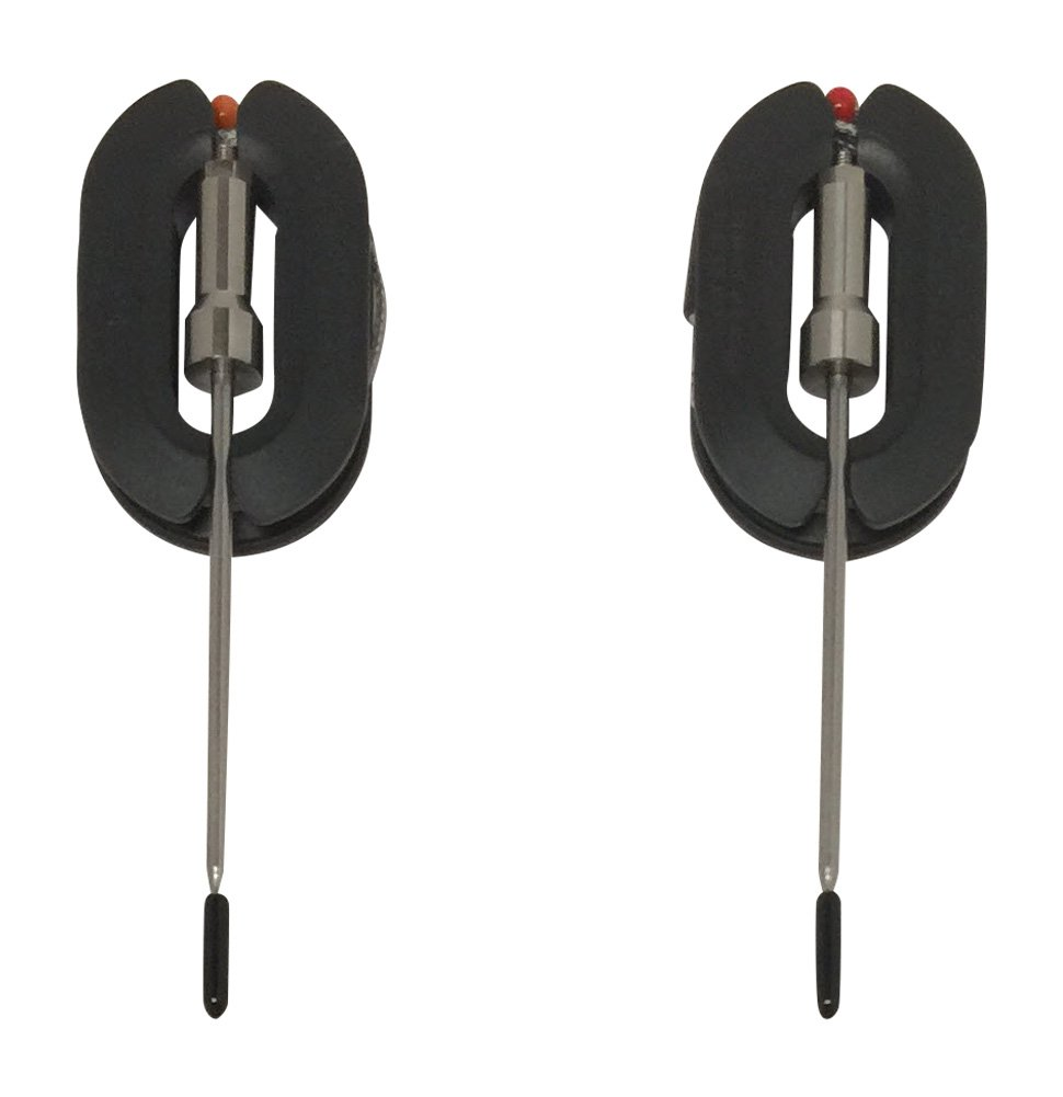 2 Stainless Steel (Best Quality, Accurate) Temperature Probes for Multi-Probe Smart Bluetooth Wireless Remote Digital Meat Thermometers: Sensor, Handle, Cable Resist up to 716°F / 380°C