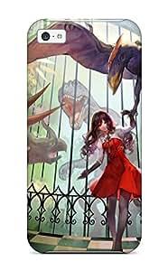 Cute Appearance Cover/tpu HKHxmst9474gQedK Monster Hunter Animal Asukaziye Dress Gloves Monster Hunter Original Case For Iphone 5c