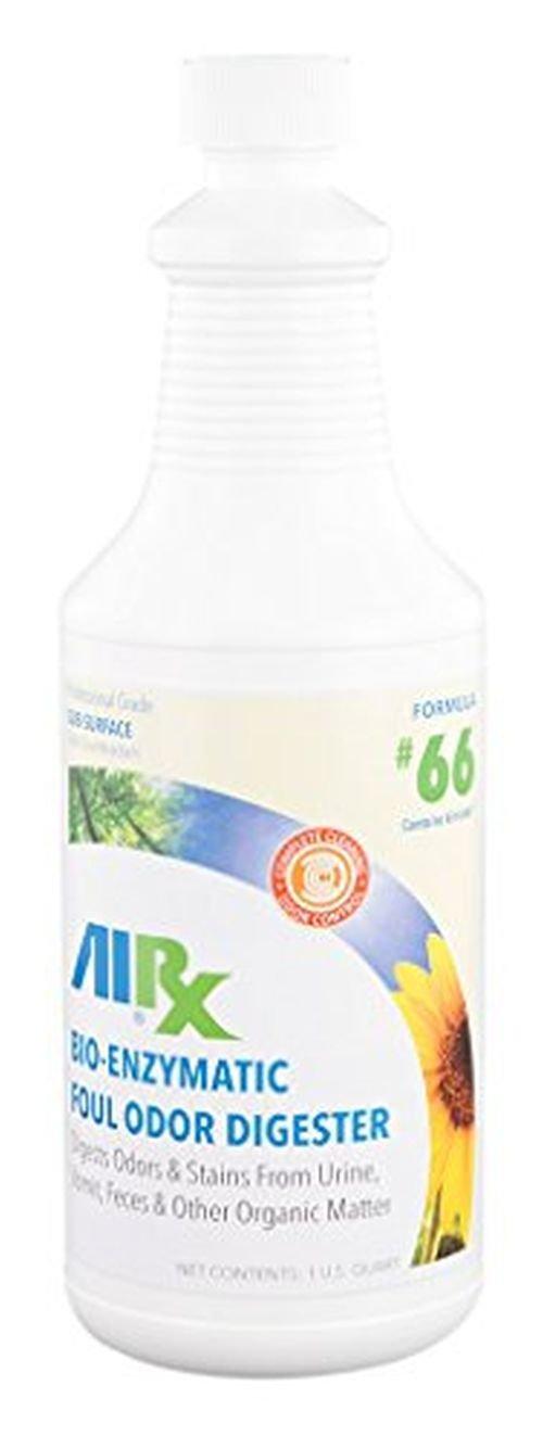 AIRX RX 66 bio-enzymatic Foul digestor de olor, botella de 1 ...