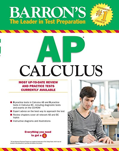 Barron's AP Calculus, 13th Edition