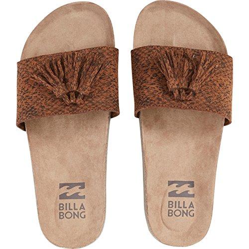 Billabong Women's Weeping Willow Slide Sandal, Espresso, 8 M US