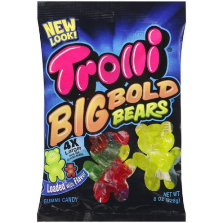 y Bears Candy, 5 Ounce (Trolli Gummi Bears)