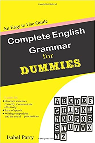 Book Complete English Grammar for Dummies: An Easy to Use Guide
