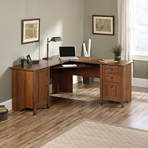 sauder-416969-carson-forge-corner-computer-desk-washington-cherry