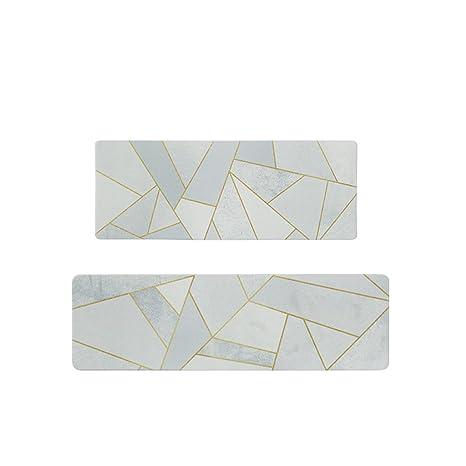 Amazon.com: Pinzhi - Alfombra de cocina de PVC resistente ...
