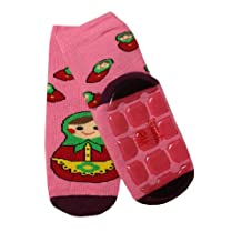 Weri Spezials Baby-Unisex Terry ABS Matrioshka Slippers Anti Non Slip Socks