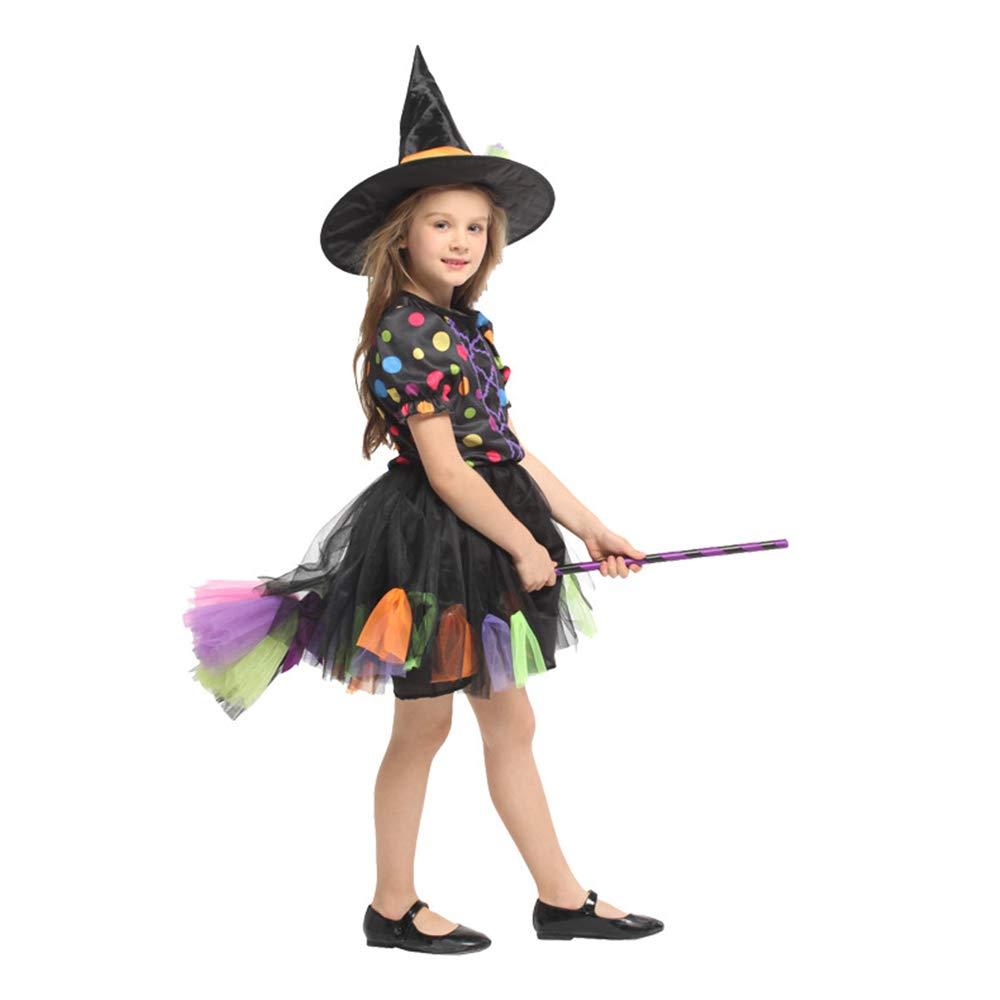 QAR Halloween Hexe Kostüm Dress Up Rollenspiel Partykleid Ballettkleid Set Damenbekleidung (größe : M)