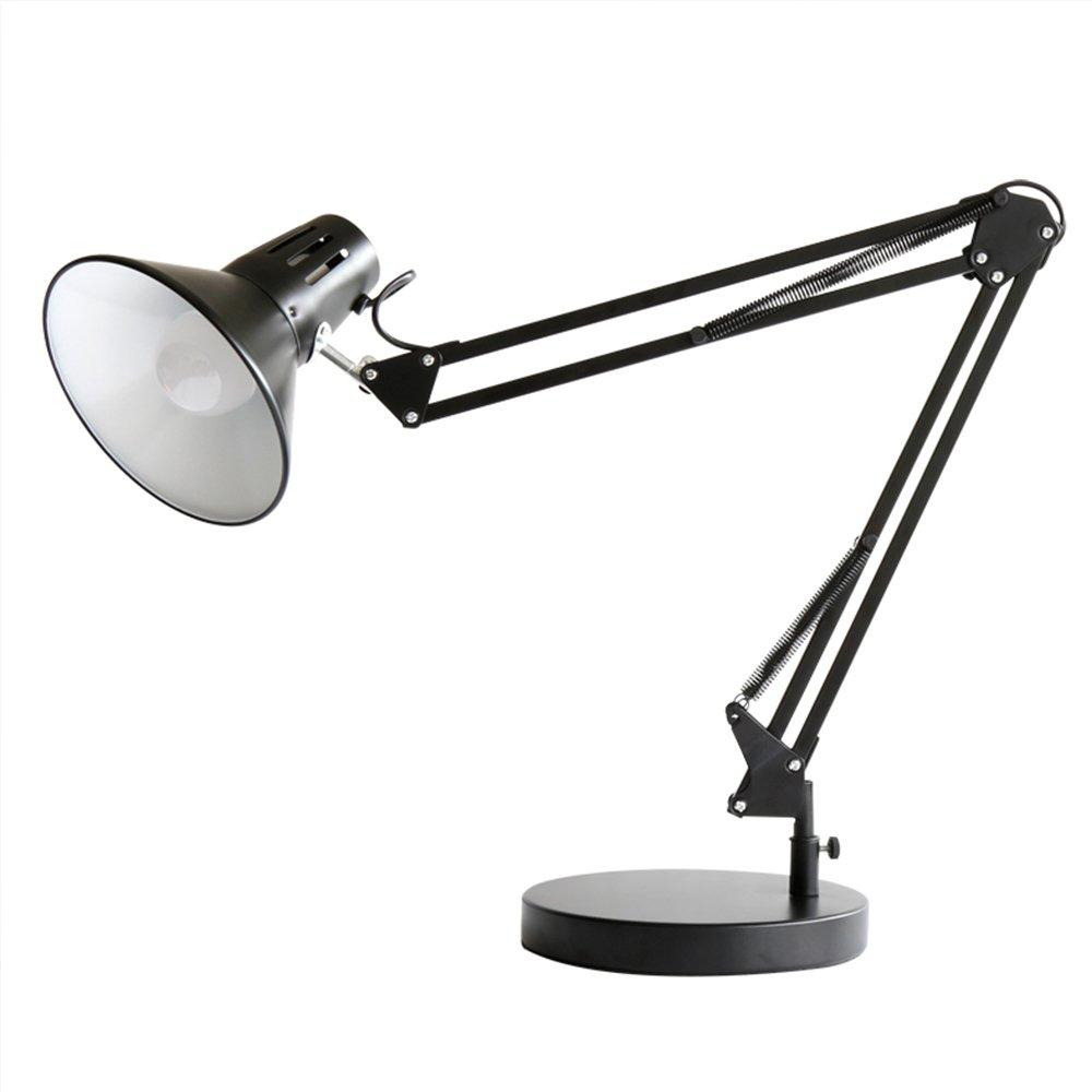 KOsdhj LED Augenschutz Tischlampe Schlafzimmer Bett Lange Arm Folding Clip Licht Fernbedienung Dimmen Lernarbeit Student Schlafzimmer Lampe B07Q37B6LF   Verbraucher zuerst