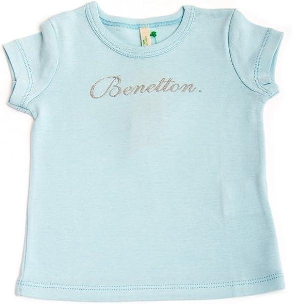 The United Colors of Benetton Sombrero - para bebé niña Turquesa ...