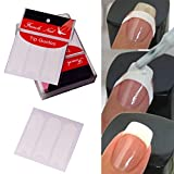 Nair Art,Putars 10Pcs Cute Easy Nail Art Tips Tape Sticker Guide Stencil Nail Sticker