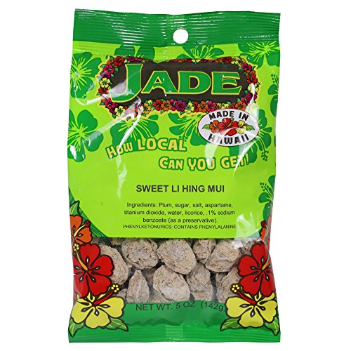 - Jade Sweet Li Hing Mui Dried Plums 5 Ounces
