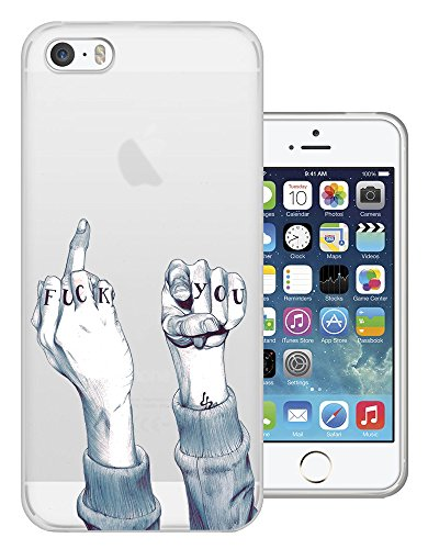C0361 - Middle Finger Fuck You Fun Design iphone 6 6S 4.7'' Fashion Trend Silikon Hülle Schutzhülle Schutzcase Gel Rubber Silicone Hülle