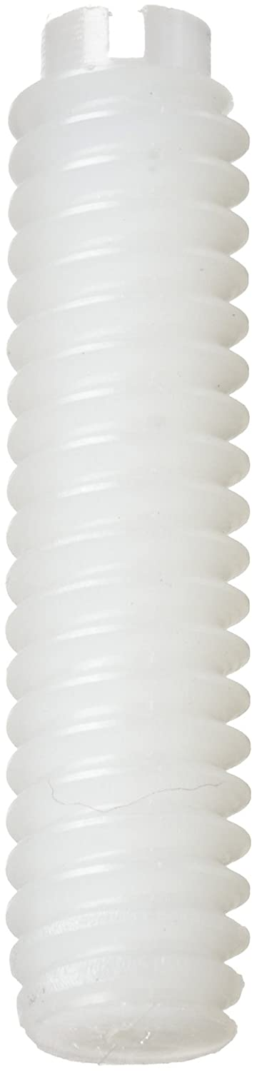 Plain Finish Nylon 6//6 Set Screw Flat Point 1-1//2 Length Small Parts 010440S150 1-1//2 Length Off-White #4-40 Threads Pack of 100 Meets ASTM D4066//ASTM D6779 Slotted Drive