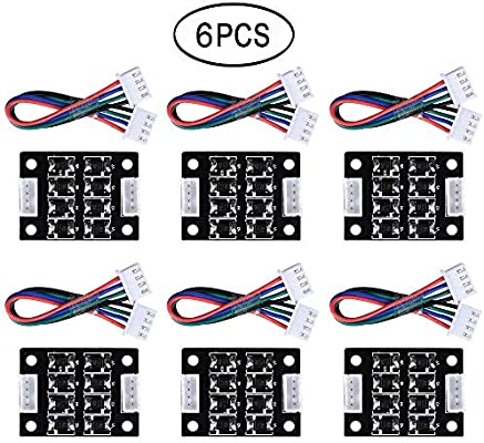 Pack of 6pcs 3Dman TL-Smoother kit addon module for pattern elimination motor filter clipping filter 3D printer motor drivers Controller