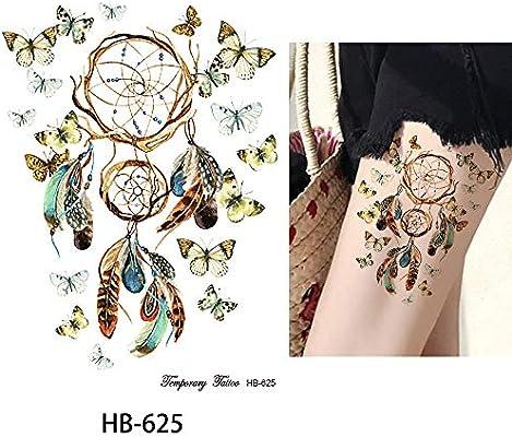 Atrapasueños Tatuaje Tatuajes Coloridos hb625 Tatuajes de flash ...
