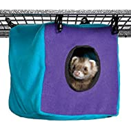 Ferret Nation Cozy Cube for Ferret Nation & Critter Nation Small Animal Cages   Measures 8.5L x 8.5W x 9H - Inches
