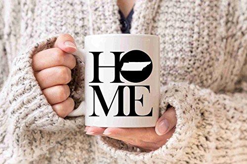 Tennessee Mug State Mug Coffee Mug Home Mug Homesick Gift Personalized Mug Tennessee State Gift Missing Home Gift Valentines Day (Tennessee Coffee Mug)
