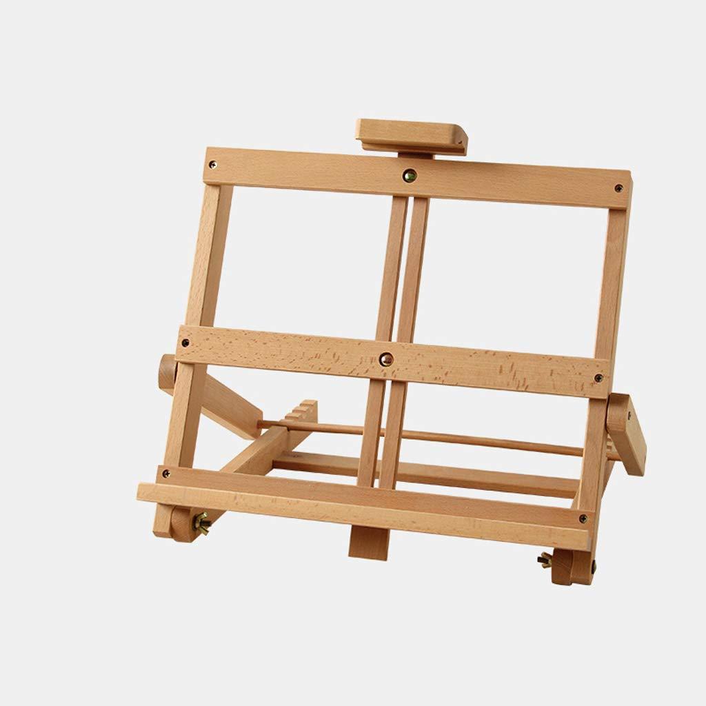 イーゼル - 木製4K折りたたみテーブルトップイーゼル描画ボードイーゼル木製ディスプレイスタンド描画ボードフレーム   B07S1FCTRM